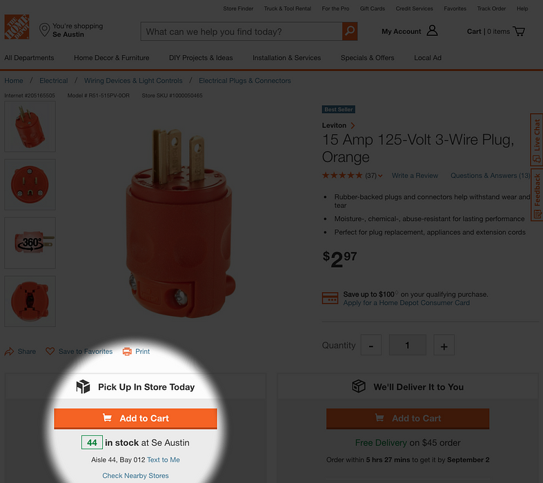 reducing friction home depot web