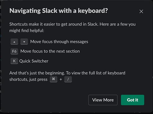 power user slack web